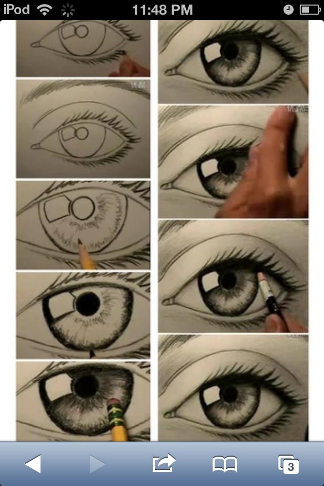 Drawing an eye