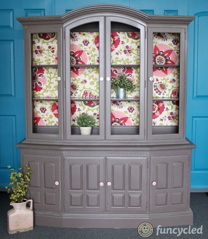 Painted Ethan Allen Hutch By Funcycled Painted With