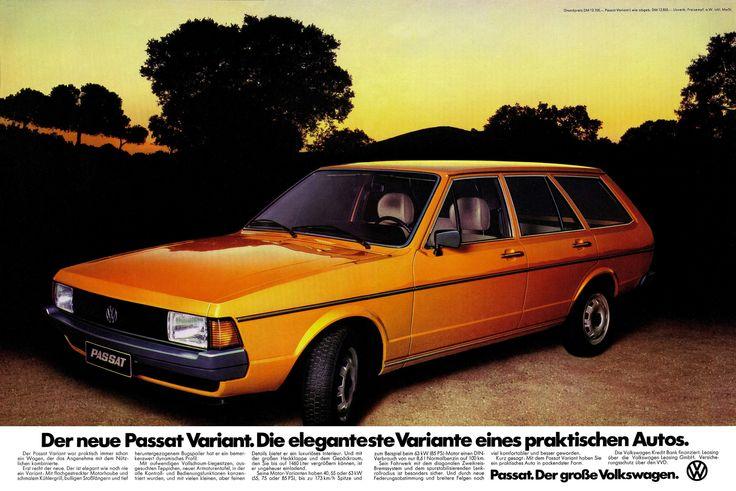 https://flic.kr/p/dmPgRA | VW Passat (1977) B1 Facelift Variant L Typ 33A | Der neue Passat Variant. Die eleganteste Variante eines praktischen Autos.  Der Passat Variant war praktisch immer schon ein Wagen, der das Angenehme mit dem Nützlichen kombinierte. Erst recht der neue. Der ist elegant wie noch nie ein Variant: Mit flachgestreckter Motorhaube und schmalem Kühlergrill, bulligen Stoßfängern und tief heruntergezogenem Bugspoiler hat er ein bemerkenswert dynamisches Profil. Mit…