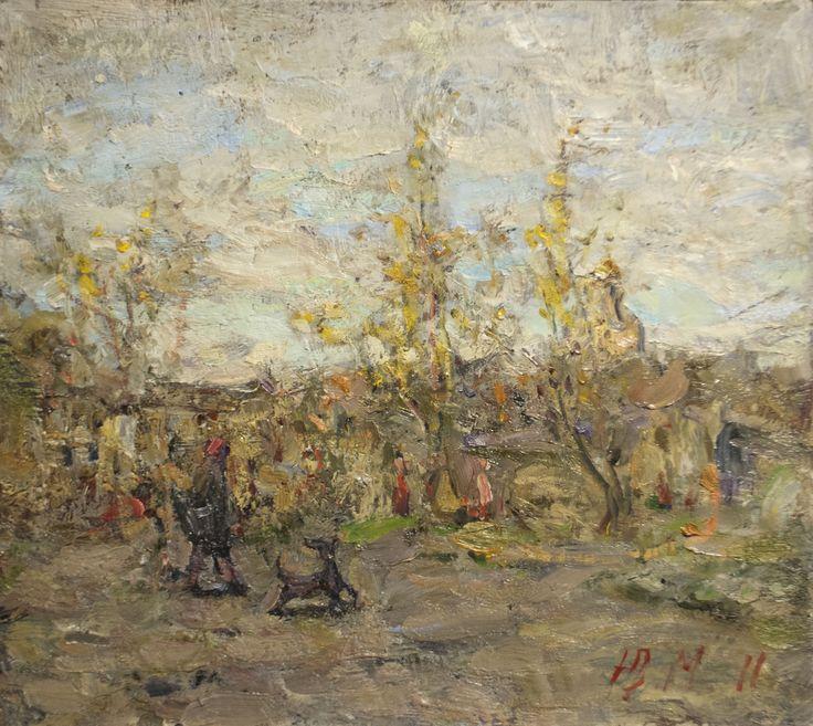 "Malanenkov Yuriy  ""Rostov's Silver"" Oil on canvas 35+5х45 cm 2011."