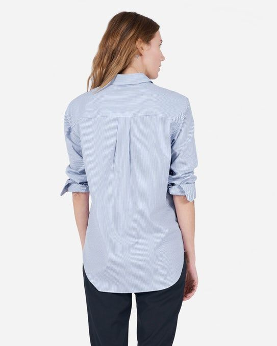 The Relaxed Poplin Shirt - Everlane