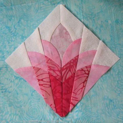 cleopatras fan patchwork | All About Inklingo » Blog Archive » Fussy Cut Cleopatra's Fan? YES