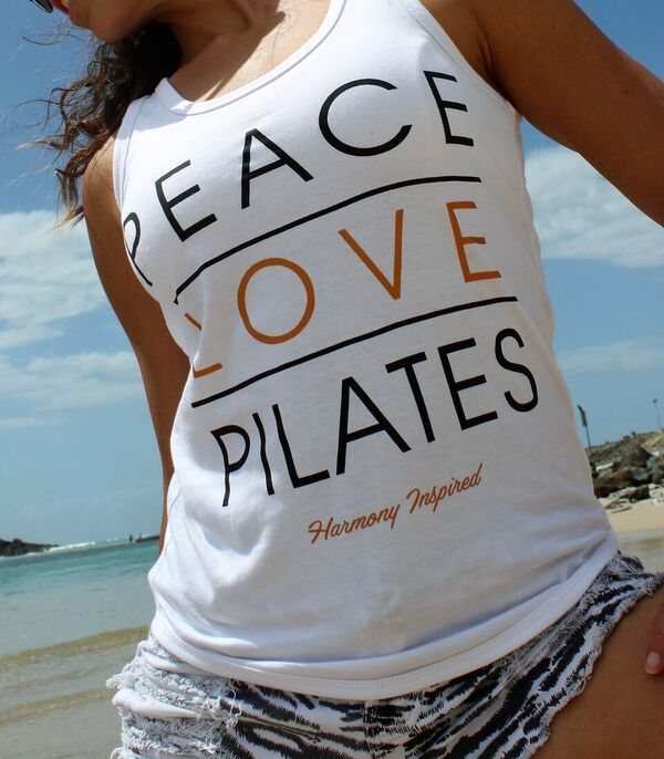 Harmony Inspired - Peace Love Pilates Tank