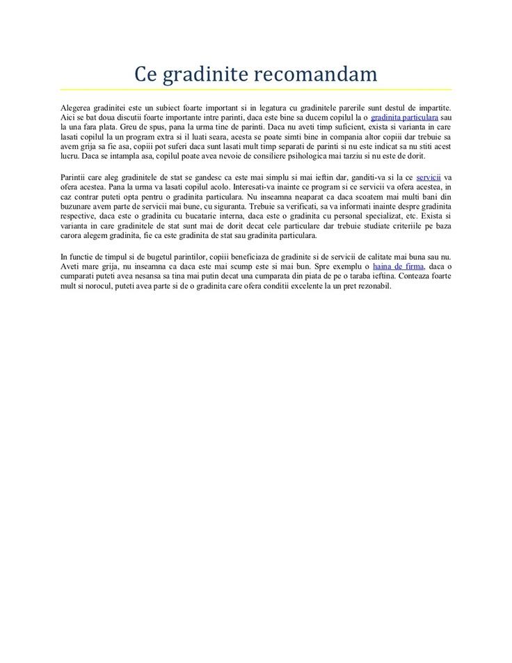 ce-gradinite-recomandam by Radion Maria via Slideshare