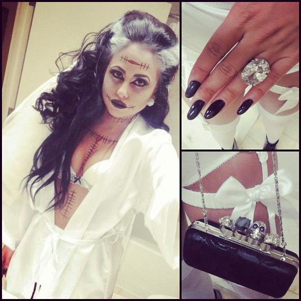 bride of frankenstein. Like the hair and make-up.
