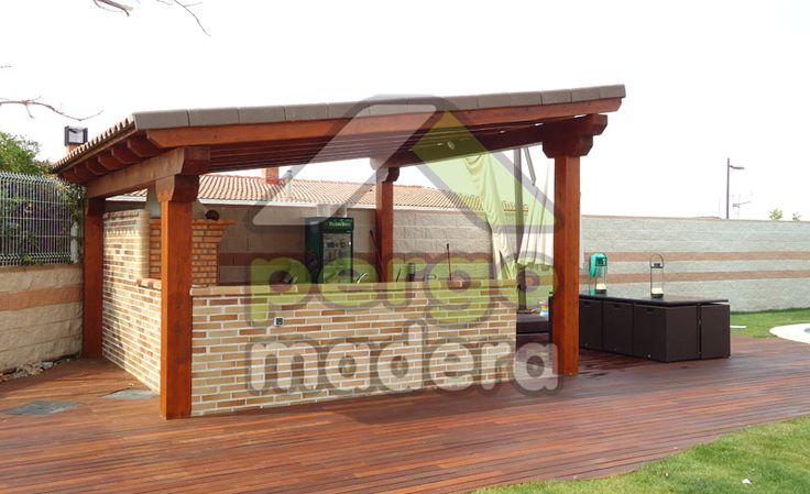 Su cenador de madera con la mejor calidad garant a y precio en tiempo record y sin necesidad Mejor madera para exterior