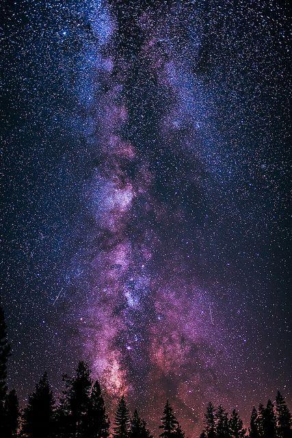Milky Way at Yosemite. | Flickr - Photo Sharing!