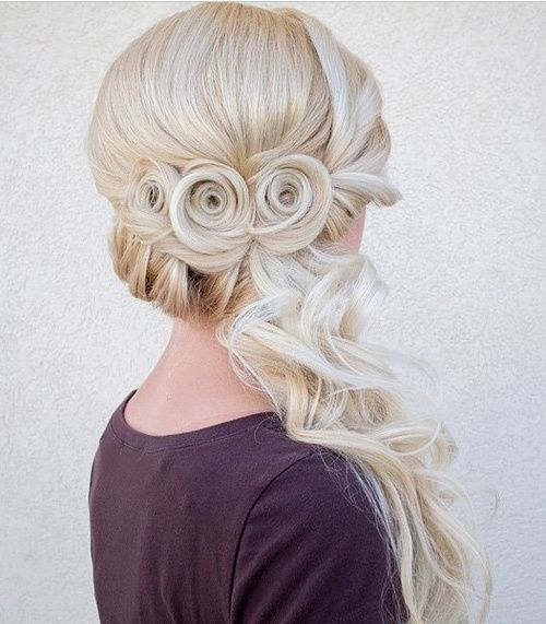 platinum+blonde+wedding+hairstyle