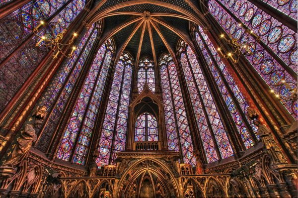La Sainte-Chapelle in Paris