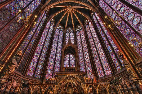 La Sainte-Chapelle in Paris