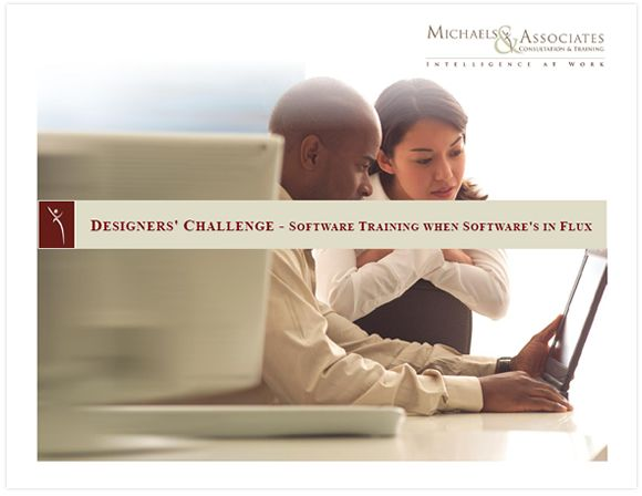 Download the free ebook: Designers' Challenge - Software Training when Software's in Flux #software_training #elearning #design #mnalearning