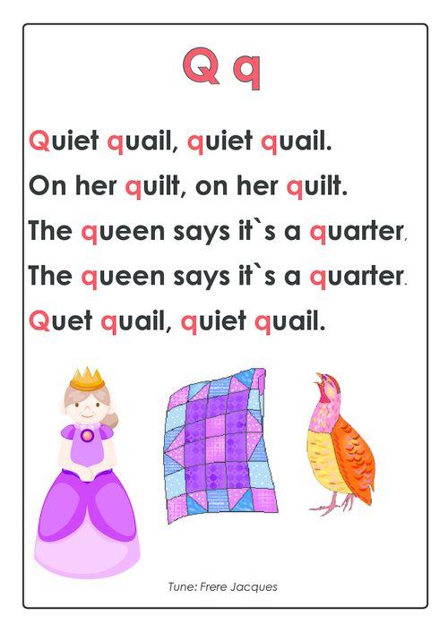 preschool abc songs best 25 letter q crafts ideas on letter 264