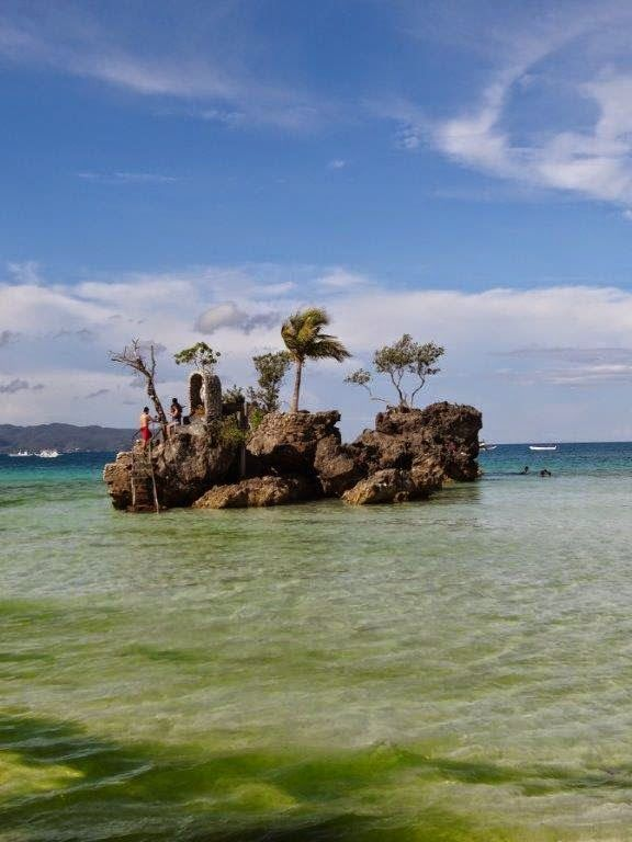 Willy's Rock, Boracay, Philippines