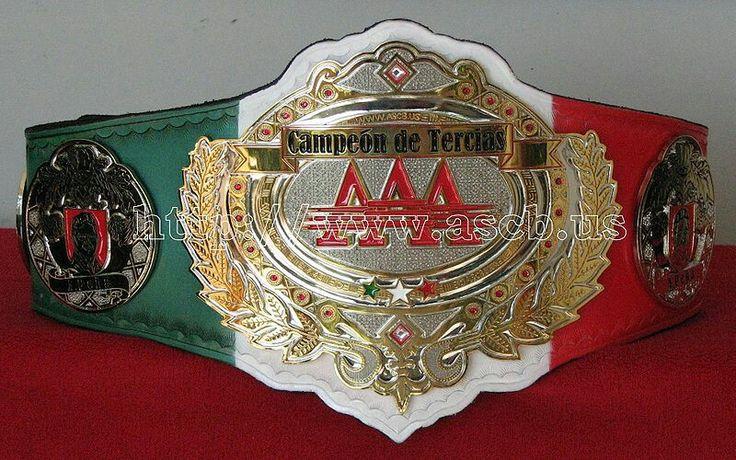 AAA Lucha Libre Campeón De Tercias (Six Man Tag Team Champions)