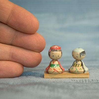Kokeshi Ningyo Doll Figure Figurine Japan Japanese Nippon Nihon Tokaido Softypapa