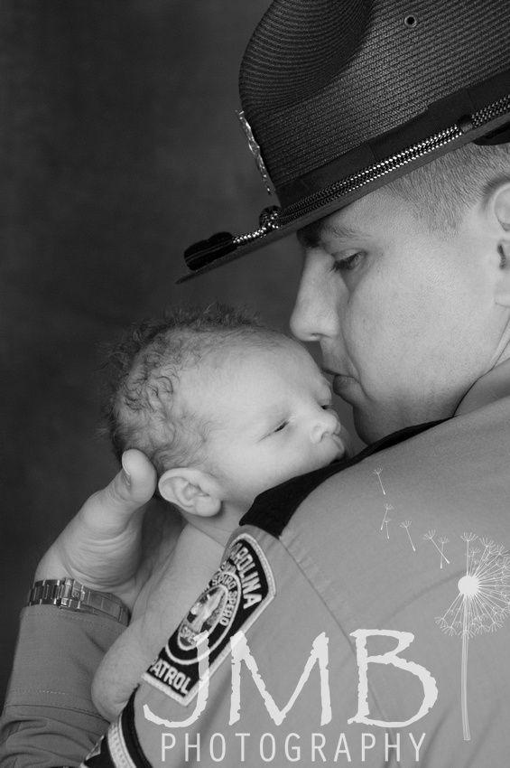 Highway Patrol Trooper Baby, Police Baby