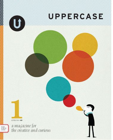 UPPERCASE magazine #1: sold out