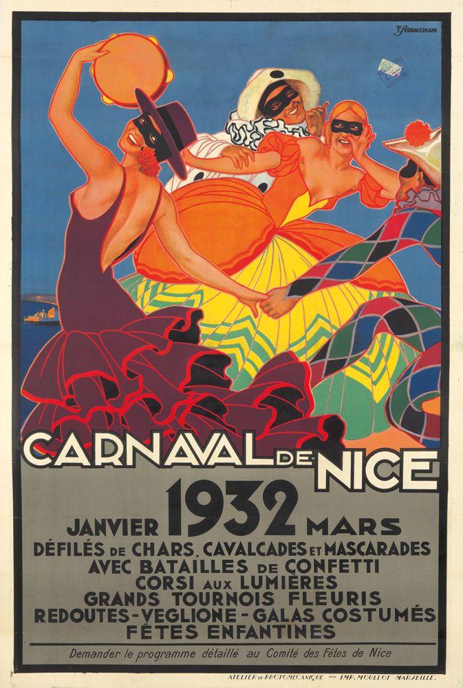 Carnaval de Nice - 1932 - (François Serracchiani) -