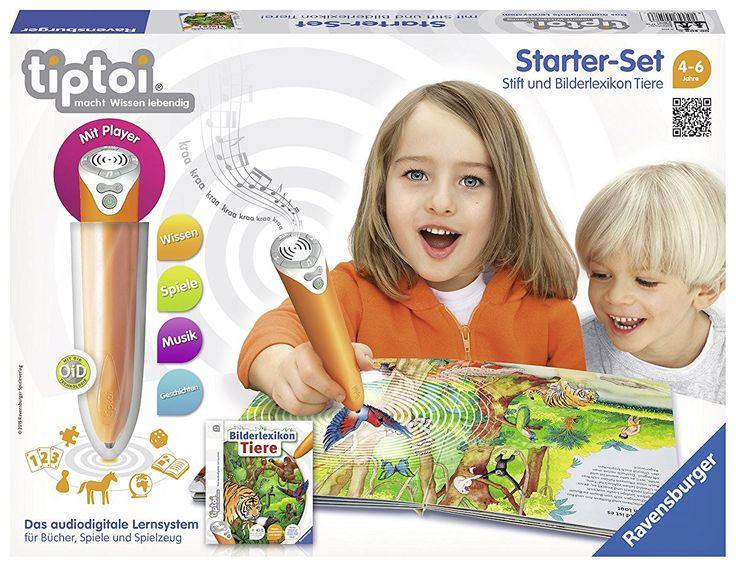 tiptoi Starter-Set mit Stift und Buch Bilderlexikon Tiere