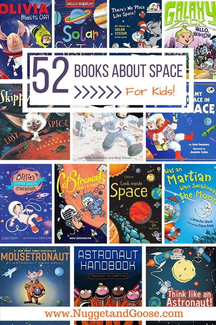 52 Books About Space for Kids