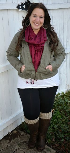 Full Figured & Fashionable: BOOT TOPPERS