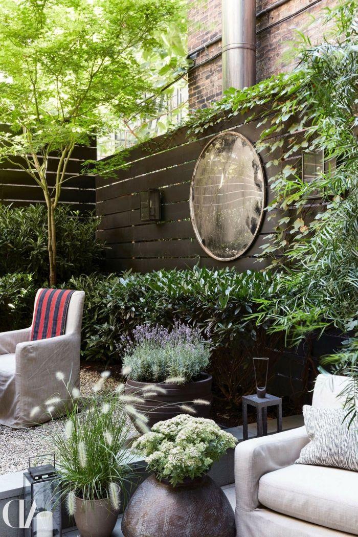1001 id es pour habiller un mur ext rieur murs Decorer un jardin
