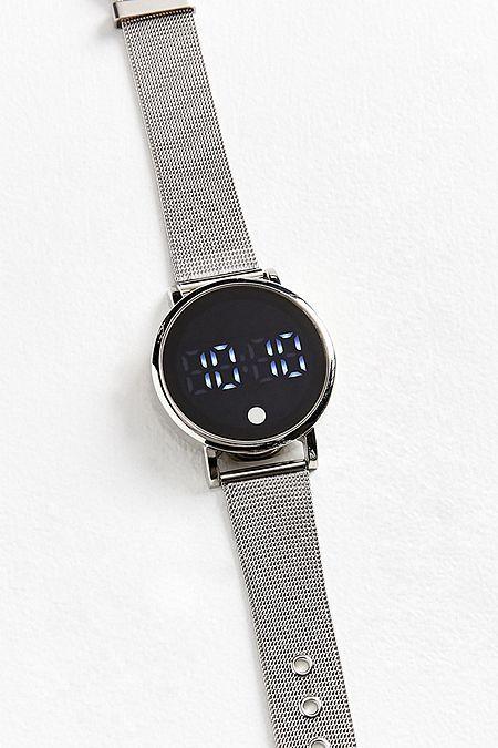 Mesh Band Digital Watch