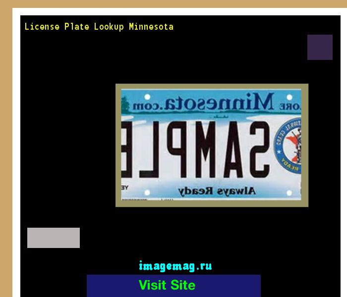 License plate lookup minnesota 154800 - The Best Image Search