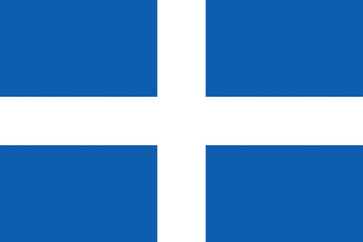 Flag of the First Hellenic Republic 1822–1832