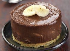 Τραγανά γλυκάκια με μπανάνα και σοκολάτα πραλίνας | GlikesSintages.gr