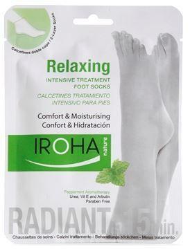 Iroha Foot Treatment Socks Comfort & Moisturising Peppermint (2 units - One use)- $10.95 on http://www.faceandbodyshoppe.com