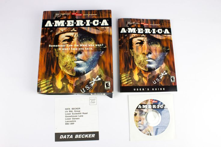 America for PC by Data Becker, 2001, Strategy, Real-Time, Historical Battle