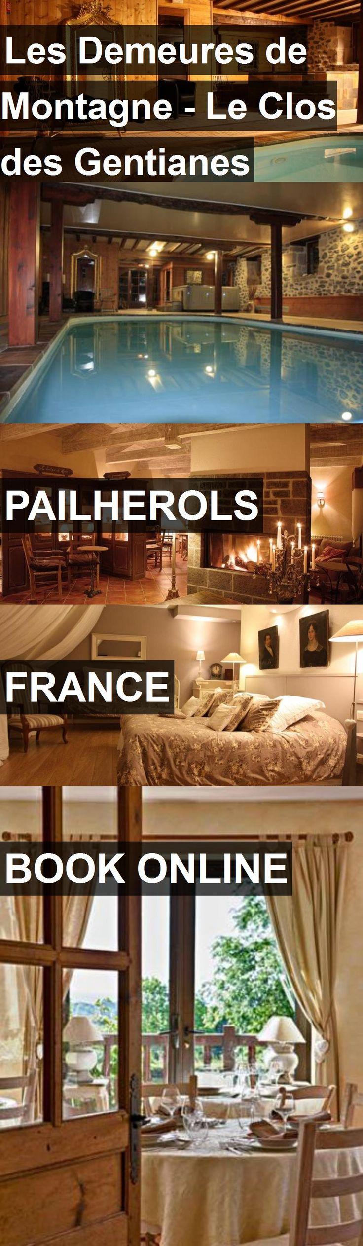Hotel Les Demeures de Montagne - Le Clos des Gentianes in Pailherols, France. For more information, photos, reviews and best prices please follow the link. #France #Pailherols #travel #vacation #hotel