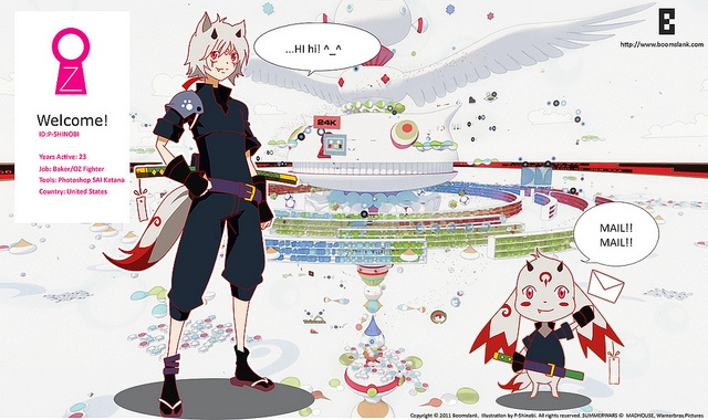 Tribute to anime movie Summerwars ~ created by P-Shinobi