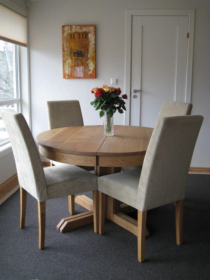 Runde spisebord fra Brubakken Home