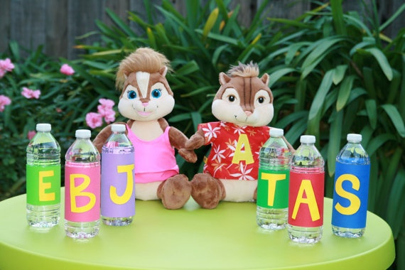 Water bottles chipettes