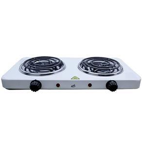 Fogao Eletrico com 2 Bocas Fogareiro Portatil 500° em Aço para cozinha alimentacao (FE-302) | Extra.com.br