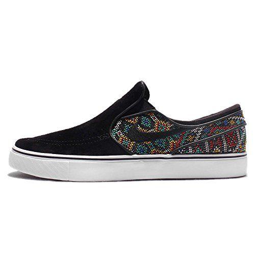 Nike Zoom Stefan Janoski Slip Elite Vintage Black Footwear – Skate/Street Shoes