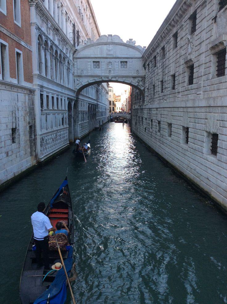 Puente de los suspiros Venecia Italia Europa 2014