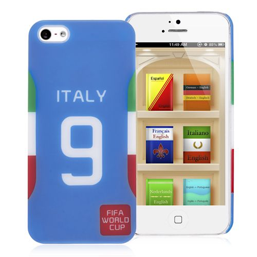 2014 FIFA World Cup Italy NO.9 Jersey Hard Back Cover for iPhone 5 5S #fifa #cases #iphone5 #football #worldcup #italy