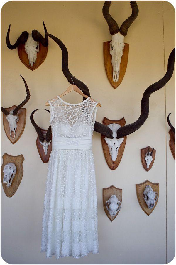 Wedding dress in africa