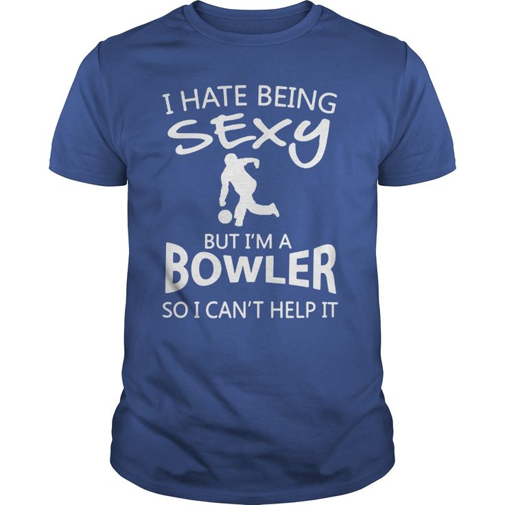 I Hate Being Sexy Bowling Shirts