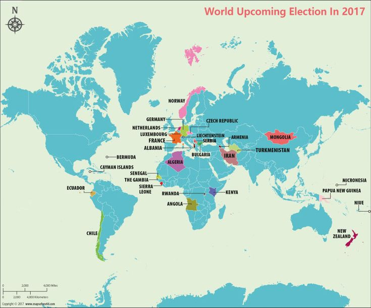 Upcoming Elections in 2017