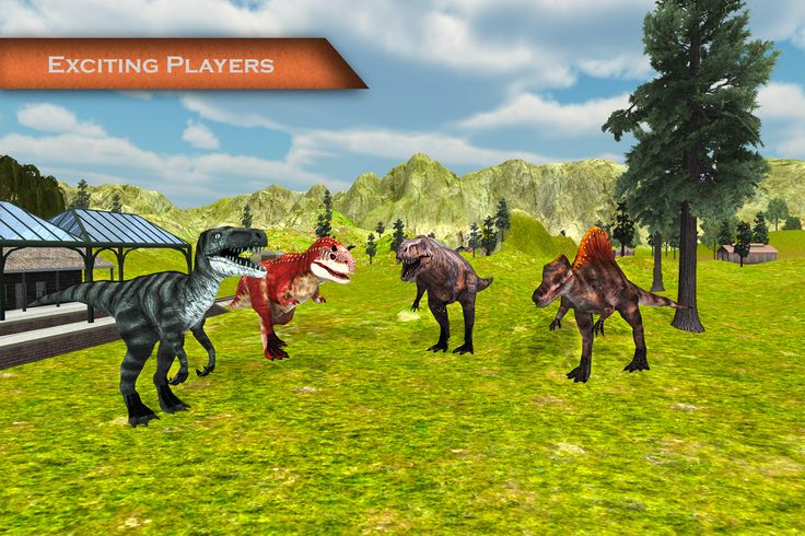 Angry Dinosaur Simulator:Train- screenshot