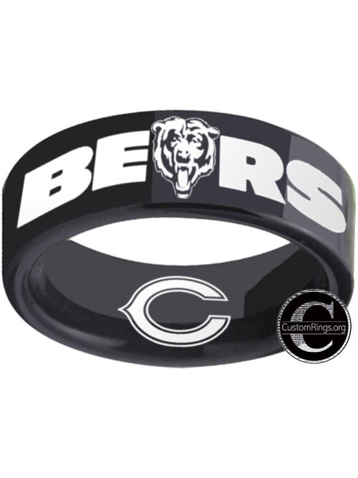 Chicago Bears Logo Ring Nfl Bears Chicago Bears Logo Chicago Bears Nfl Bears