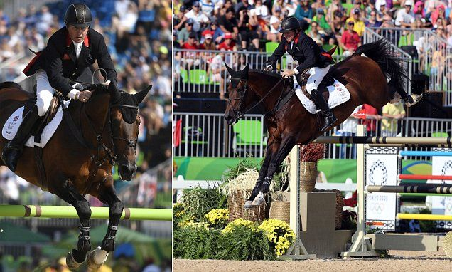 Nick Skelton wins individual showjumping gold for Great Britain