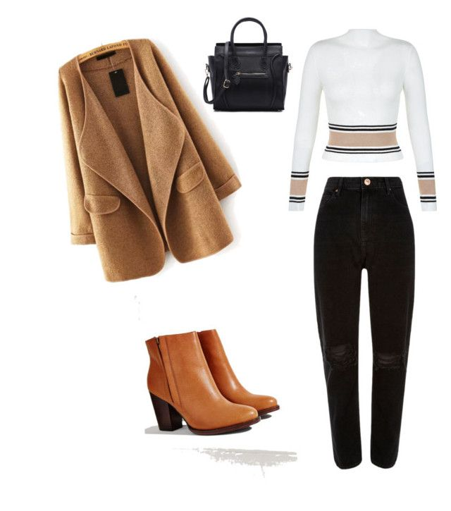 """Sunny autumn"" by egle-dambrauskaite on Polyvore featuring New Look, River Island and Silence + Noise"