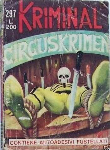 Kriminal #297 - Circuskrimen (Issue)