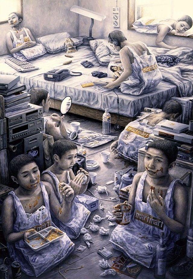 日本超現實主義畫家 – 石田徹也   KAIAK   城市美學的新態度