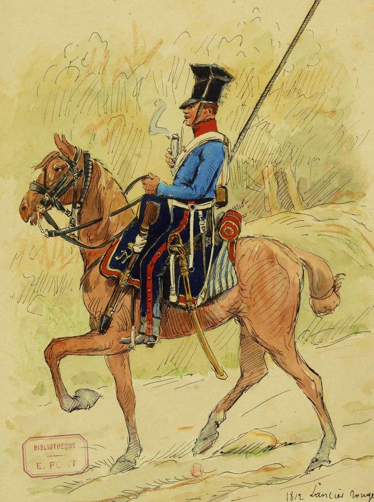 Lancier_rouge_en_tenue_de_campagne,_1812.jpg (1377×1851)